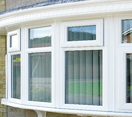 What are Bay and Bow Windows?