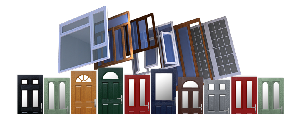 Coloured UPVC Windows Prices and Designs